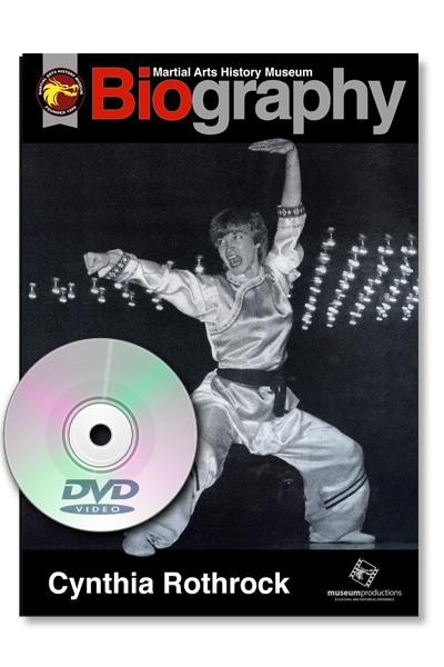 Autographed Cynthia Rothrock Biography DVD