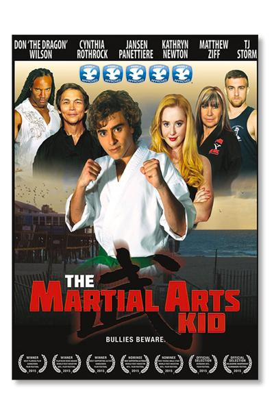 Autographed Martial Arts Kid DVD