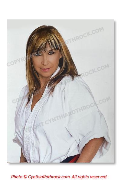 Cynthia Rothrock Autographed photo